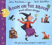 Room on the Broom and Other Songs Book and CD (Book & CD) - Donaldson, Julia