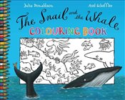 Snail and the Whale Colouring Book - Donaldson, Julia
