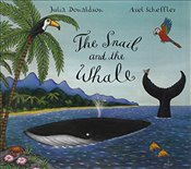 Snail and the Whale Book and CD Pack (Book & CD) - Donaldson, Julia
