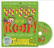 Wriggle and Roar!: Book and CD Pack - Donaldson, Julia