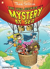 "Thea Stilton Graphic Novels #6: ""The Thea Sisters and the Mystery at Sea"" - Stilton, Thea"