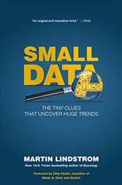 Small Data: The Tiny Clues That Uncover Huge Trends - Lindstrom, Martin