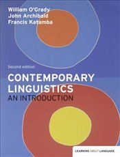Contemporary Linguistics 2e : An Introduction - OGrady, William