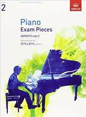 Piano Exam Pieces 2015 & 2016 : Grade 2 : Selected from the 2015 & 2016 Syllabus  - Jones, Richard