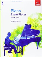 Piano Exam Pieces 2015 & 2016 : Grade 1 : Selected from the 2015 & 2016 Syllabus  - Jones, Richard