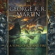 Song of Ice and Fire 2017 Calendar: Illustrations by Didier Graffet - Martin, George R. R.
