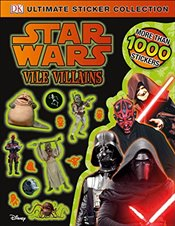 Star Wars: Vile Villains (DK Ultimate Sticker Collections) - DK,