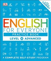 English for Everyone: Level 4: Advanced, Practice Book - DK,
