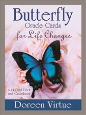 Butterfly Oracle Cards for Life Changes: A 44-Card Deck and Guidebook - Virtue, Doreen