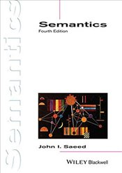 Semantics : Introducing Linguistics - Saeed, John I.