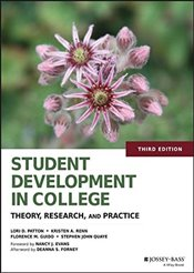 Student Development in College 3E : Theory, Research, and Practice - Patton, Lori D.