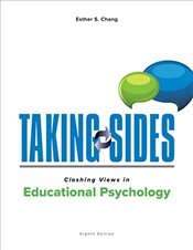 Taking Sides : Clashing Views in Educational Psychology - Symons, Frank