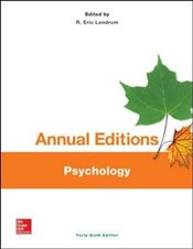 Annual Editions : Psychology - Landrum, R. Eric
