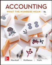 Accounting 11e : What the Numbers Mean - Marshall, David