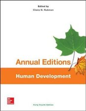Annual Editions : Human Development - Rubman, Claire N.