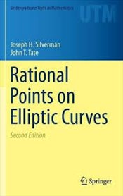Rational Points on Elliptic Curves 2E (Undergraduate Texts in Mathematics) - Silverman, Joseph H.