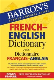 (BARRONS FRENCH-ENGLISH DICTIONARY: DICTIONNAIRE FRANCAIS-ANGLAIS) BY DISCHLER, MAJKA(AUTHOR)Paperb - Dischler, Majka