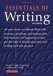 Essentials of Writing (Essential Series) - Hopper, Vincent F.