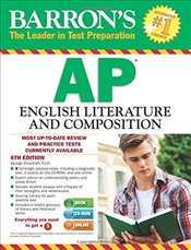 Barrons AP English Literature and Composition With CDROM : 6e - Ehrenhaft, George