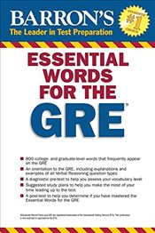 Barrons Essential Words for the GRE 4e - Geer, Philip