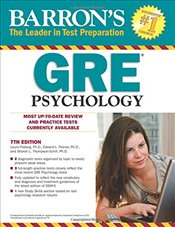 Barrons GRE Psychology 7e - Palmer, Edward