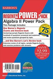 Algebra II Power Pack (Regents Power Packs) - Rubenstein, Gary M.