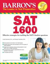 Barrons SAT 1600: Revised for the New SAT [With CDROM] - Carnevale, Linda