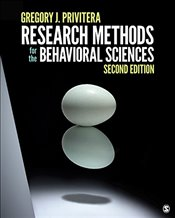 Research Methods for the Behavioral Sciences - Privitera, Gregory J.
