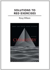 Solutions to Red Exercises for Chemistry: The Central Science - Brown, Theodore E.