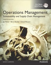 Operations Management 12e PGE : Sustainability and Supply Chain Management - Heizer, Jay