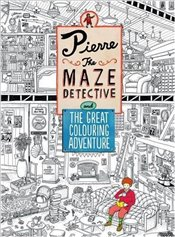 Pierre the Maze Detective and The Great Colouring Adventure - Kamigaki, Hiro