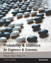 Probability and Statistics for Engineers and Scientists 9e w/MyStatLab with Pearson eText - Walpole, Ronald E.
