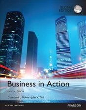 Business in Action 8e Plus MyBizLab with Pearson eText - Bovee, Courtland L.