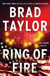 Ring of Fire: A Pike Logan Thriller (Random House Large Print) - Taylor, Brad