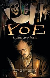 Poe : Stories and Poems : A Graphic Novel Adaptation - Hinds, Gareth
