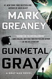 Gunmetal Gray (Random House Large Print) - Greaney, Mark