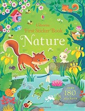 First Sticker Book Nature (First Sticker Books) - Brooks, Felicity
