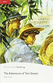 Level 1: The Adventures of Tom Sawyer Book & CD Pack (Pearson English Graded Readers) - Twain, Mark