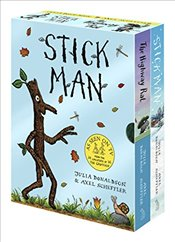 Stick Man & The Highway Rat Board Book Box Set - Donaldson, Julia