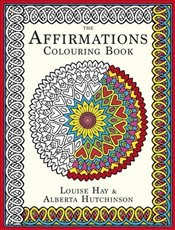 Affirmations Colouring Book - Hay, Louise