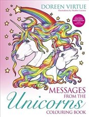 Messages from the Unicorns Colouring Book (Colouring Books) - Virtue, Doreen