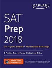 Kaplan SAT 2018 Strategies, Practice and Review with 2 Practice Tests : Online + Book - Kaplan