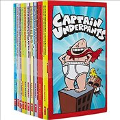 Captain Underpants 10 Book Collection Pack Revenge of the Radioactive Robo-Boxers, Retrun of Tippy t - Pilkey, Dav