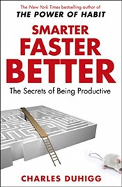 Smarter Faster Better : The Secrets of Being Productive - Duhigg, Charles