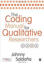 Coding Manual for Qualitative Researchers 3e - Saldana, Johnny