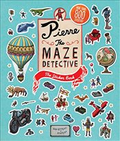 Pierre the Maze Detective : The Sticker Book  - Kamigaki, Hiro