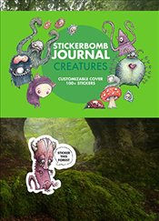 Stickerbomb Journal : Creatures -
