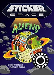 Sticker Space and Aliens  -