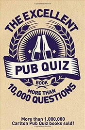 Excellent Pub Quiz Book - Preston, Roy