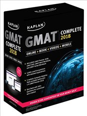 Kaplan GMAT Complete : The Ultimate in Comprehensive Self-study : Online+Book+Videos+Mobile - Kaplan